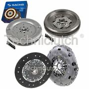 Nationwide 2 Part Clutch Kit And Sachs Dmf For Vw Touran Mpv 1.9 Tdi