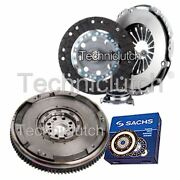 Nationwide 3 Part Clutch Kit And Sachs Dmf For Toyota Avensis Saloon 2.0 D-4d