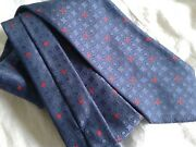 240 Brioni Mens 100 Silk Tie Hand Made In Italy