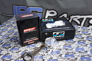 Manley Turbo Tuff Rods And Cp Pistons 87.5mm Bore 10.01 Cr For Toyota Supra 2jz