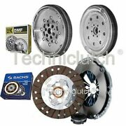 Sachs 3 Part Clutch Kit And Luk Dmf For Audi A3 Hatchback 1.6 Tdi