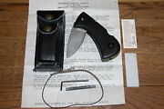 Survival Knife Rs-1 Complete Set Few Known To Exist