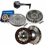 Nationwide 2 Part Clutch Kit And Sachs Dmf With Csc For Vw Golf V Estate 2.0