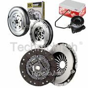 2 Part Clutch Kit And Luk Dmf With Fte Csc For Opel Vectra C Estate 2.2 Direct