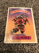 Garbage Pail Kids Mad Mike 33a
