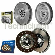 Sachs 2 Part Clutch Kit And Luk Dmf For Audi A3 Convertible 2.0 Tfsi