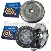 Sachs 3 Part Clutch Kit And Sachs Dmf For Audi A4 Berlina 1.9 Tdi