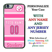 Pittsburgh Steelers Phone Case Cover For Iphone Samsung Moto Custom Nameand