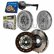 2 Part Clutch Kit And Luk Dmf With Sachs Csc For Vw Golf Hatchback 2.0 Tdi
