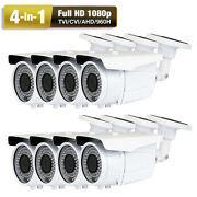 1080p Ahd 960h 2.6megapixel 72ir 8 Sony Cmos 4-in-1 Security Camera Ac Andand