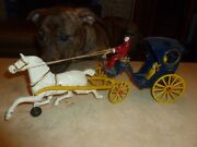 All Original Kenton 1950 Cast Iron Toy. Huge And Great. 16 Long.
