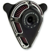 Performance Machine Contrast Cut Jet Air Cleaner 1991-2018 Harley Sportster