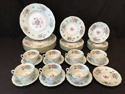 Mintons Sherwood 7+ 5 Pc Place Settings 39 Pc Dinner Service Dinner Salad Plate