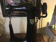 Puritan Leather Sewing Machine Leather Boots Handbags Saddlery High Post 1/2 Hp