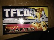 Transformers Igear Tfcon 2012 Exclusive Shafter New Never Played With