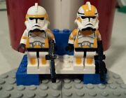 Lego Star Wars Custom Clone Troopers Boil And Waxer 212th Attack Battalion