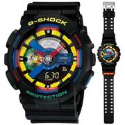 Casio G-shock Wristwatch Dee And Ricky Collaboration Ga-110dr Crazy Color Rare