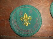 Set Of 7 Vintage Boy Scout Badges Baden Powell House Bsa Merit Scouting Patch