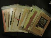 Quilt Blocks/wall Hanging Patterns Group 8 - You Pick - Read Listing