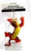 Disney Tigger Swinging New In Package Old Stock Rare Antenna Topper