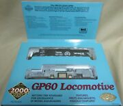Limited Edition Gp60 Locomotive Proto Series Ho Scale Item 30551 Undecorated
