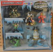 Marvel Super Hero Squad Toys R Us Collectorand039s Pack Enchantress Frost Giant Loki