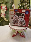 Lemax Christmas Residence Victorian Village House 2018 Michaels Lights