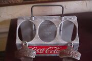 Vintage Lot Coca Cola 40and039s 50and039s Bottle Carrier Ill 2 Bottle Openers Newport Va
