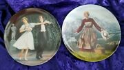 Sound Of Music Andlaendlerknowles Collector Fine China Plates W/coaboxmint
