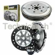 Nationwide 3 Part Clutch Kit And Luk Dmf For Bmw 3 Series Hatchback 318 Tds