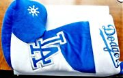 Rare Vintage La Dodgers Authentic Ml Team Beans Christmas Stocking New With Tags