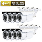 1080p Ahd 960h 2.6megapixel 72ir Led 8 Sony Cmos Jd 4-in-1 Security Camera Ac