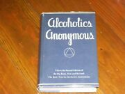 Alcoholics Anonymous Collectors Nearly New 1962 2nd Edition 5th Printing +odj