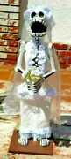 Day Of The Dead Large Bride Paper Mache Hand Made Mexico W/ Free Shipping