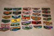 Order Of The Arrow Oa Boy Scouts Lot Of 30 Different Oa Flaps For One Price 13