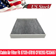 87139-07010 Cabin Air Filter With Activated Carbon Ac Clean