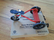 Rare Vintage Mangchild Child Hand Pulley Stand-up Tricycle Bike