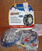 2317-s Les Schwab Quick Fit Sport Tire Snow Chains, Never Used
