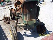 Jd John Deere 1010s Gas Tractor With Fire Damage