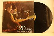 120 Music Masterpieces 2lp Highlights Columbia House 1967, 2 Lp 12 G