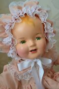 Big Beautiful 26 Antique Vintage Composition Baby Doll .