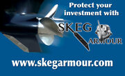 Skeg Protector Skeg Guard 304ss Includes Hardware Universal 1 Size Fits Most