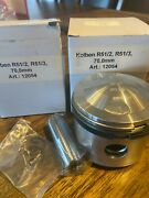 New Bmw R51/2 R51/3 70 Mm Pistons/kolbens 4th Over W/rings Pin And Clips