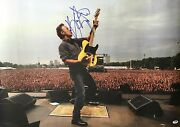 Bruce Springsteen Signed Photo Autographed 20x30 W Photo Proof And Psa/dna Cert.