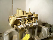 Holley 3605 4 Barrel Carb 1966 Corvette Rebuilt And Plated