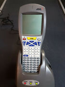 Aml M7100 Portable Data Terminal M-7100 With Acc-7025 Charging Cradle Scanner