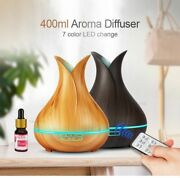Aroma Essential Oil Ultrasonic Diffuser Air Humidifier Changing Led Lights 400ml