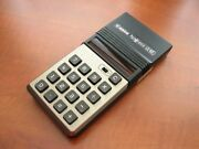 Rare New In Box Vintage 1973 Nos Canon Palmtronic Le-83 🔴 Red-led Calculator