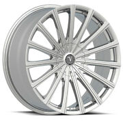 22 Velocity Vw10 Chrome Wheels Rims Tires Fit 300c Charger Magnum Olds Cutlass