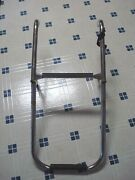 Two Step Folding Stainless Steel Boat Boarding Ladder